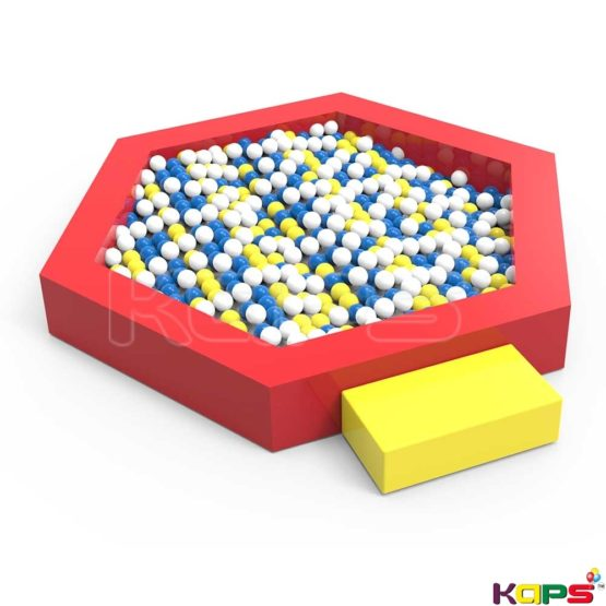 Hexogonal shape ball pool 1